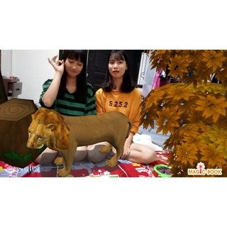 Magicbook – Thế giới động vật ngay tại nhà – Sách công nghệ giáo dục 4D
