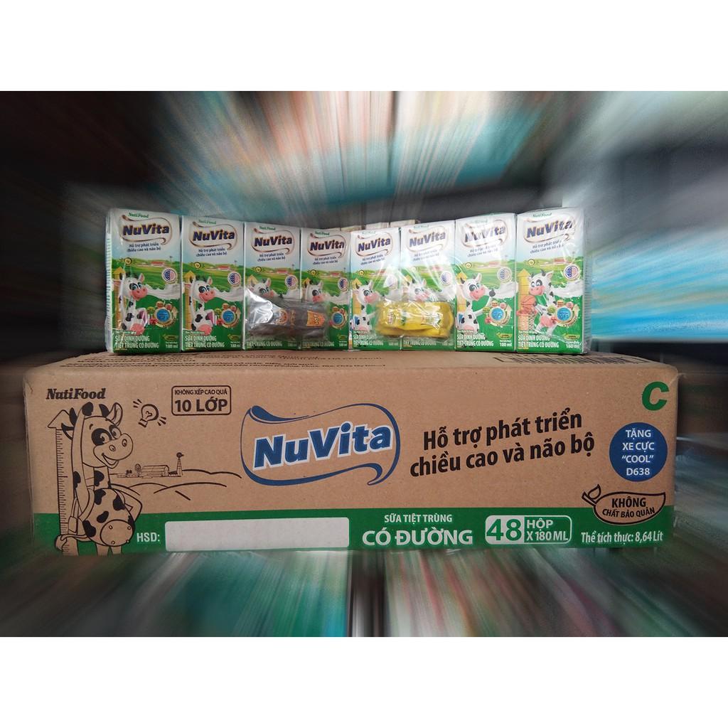 Sữa NuVita 180ml (1 Thùng 48 Hộp)