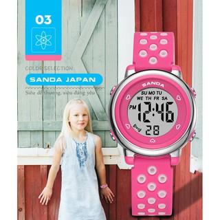 Đồng hồ Trẻ em SANDA JAPAN, Thương hiệu Cao Cấp Của Nhật, Chống Nước Tốt 4