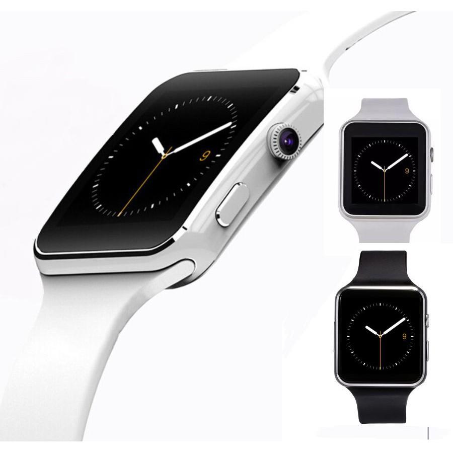 Đồng Hồ Thông Minh Smart Watch X6 Màn Hình Cong - siêu hot
