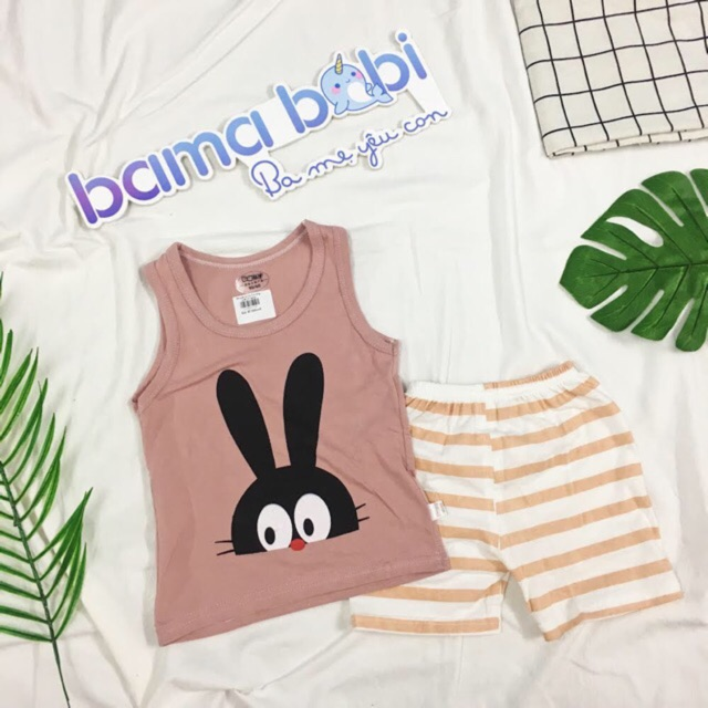 Bộ quần áo 3 lỗ bé trai bé gái hoạ tiết thỏ (2 mẫu) - 3207748 , 1152873779 , 322_1152873779 , 87000 , Bo-quan-ao-3-lo-be-trai-be-gai-hoa-tiet-tho-2-mau-322_1152873779 , shopee.vn , Bộ quần áo 3 lỗ bé trai bé gái hoạ tiết thỏ (2 mẫu)