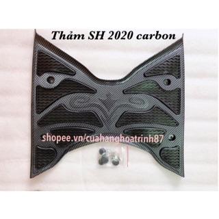 Thảm Lót Chân SH 2020 Carbon