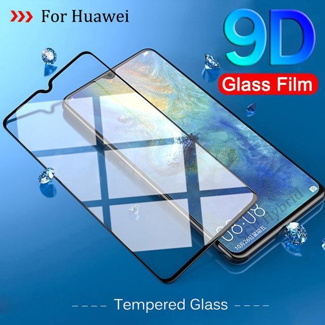 Kính Cường Lực 9d Bảo Vệ Toàn Màn Hình Cho Huawei P30 Lite thumbnail