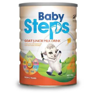 [Mã FMCGM100 - 12% đơn 500K] Sữa Dê Công thức Baby Steps Số 4 Goat Junior Milk Drink 900gr thumbnail