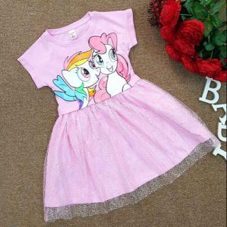Đầm bé gái Litter Pony