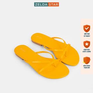 Dép xỏ ngón, Dép xẹp nữ Zelda Star xỏ ngón dây mảnh - DX002820 thumbnail
