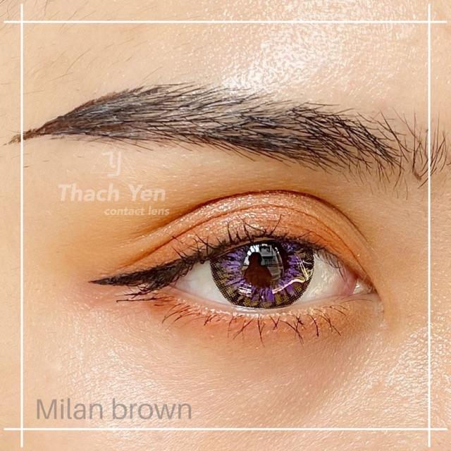 Kinh Ap Trong Milan Brown Lens Shopee Việt Nam