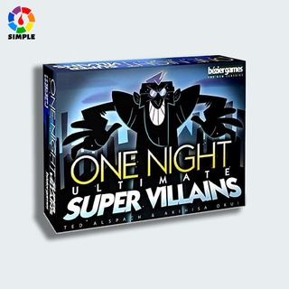 Bộ trò chơi Board Game One Night Ultimate Super Villains thú vị cho bé chạy thumbnail
