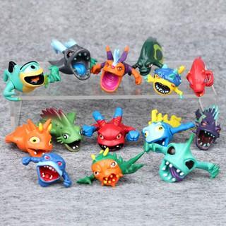 Lốc 14 món đồ chơi Slugterra tiến hóa mini cho trẻ em