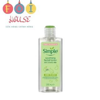 Nước hoa hồng Simple Smoothing Facial Toner 200ml thumbnail