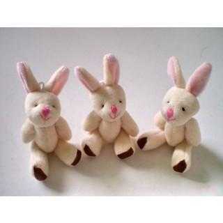✿INN✿ Plush Rabbit Doll Backpack Pendant Baby Stroller Hanging Crib Tent Decor Ornaments Kids Toys