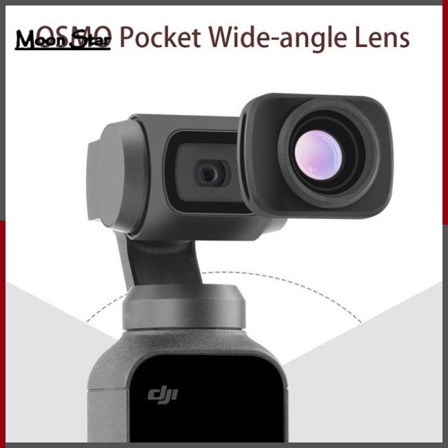 Mini Portable Wide-angle Camera Lens for DJI OSMO Pocket Handheld Gimbal