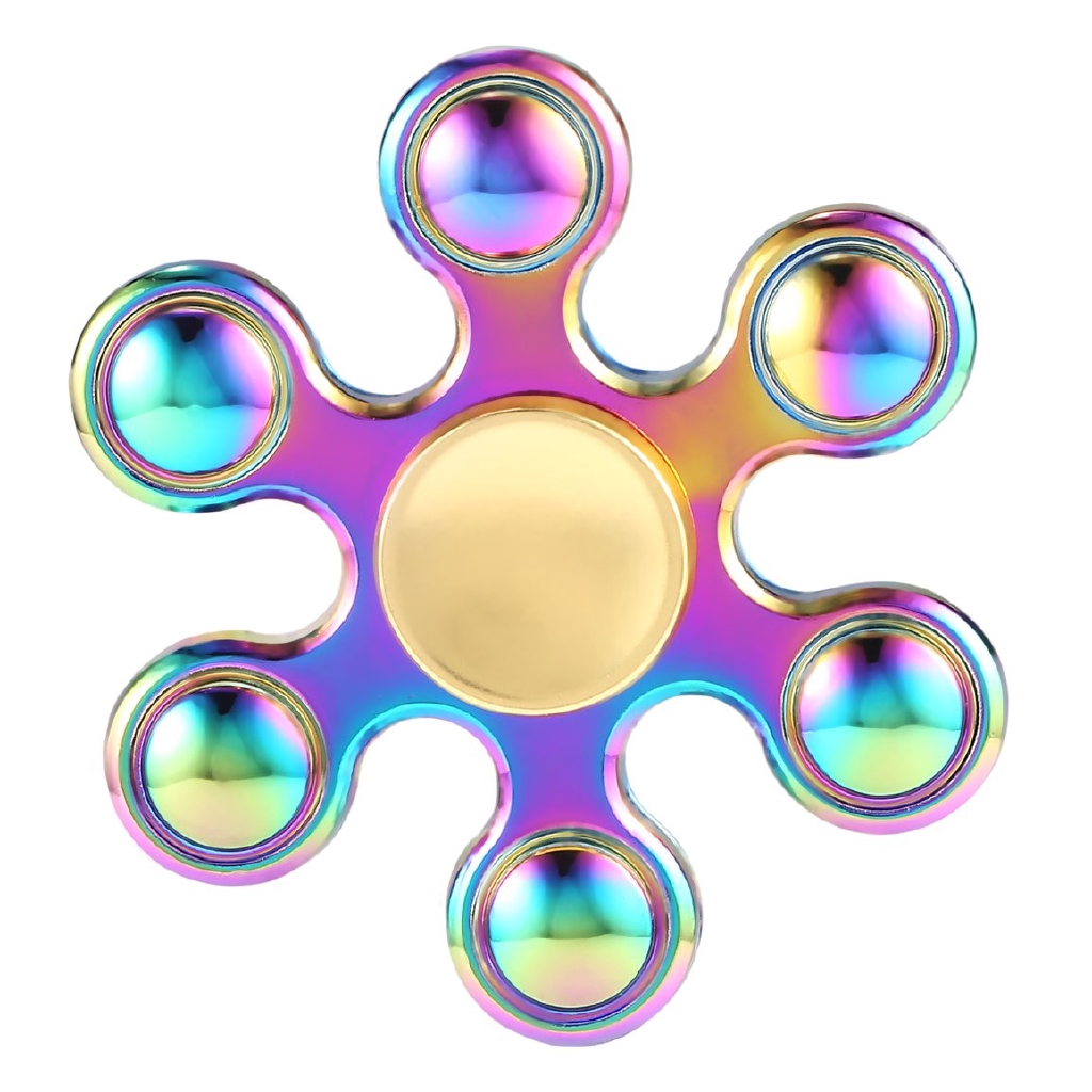 Ball Colorful Hand Spinner Toys Fingertip Toy For Kids Adults Reduce Stress