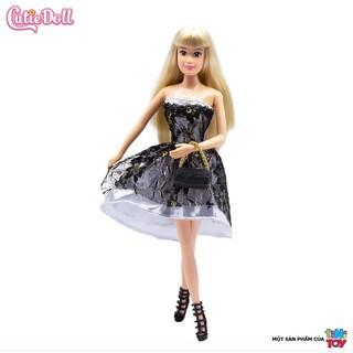 [tiNiToy] Bộ đồ chơi búp bê thời trang dạ hội cỡ nhỏ tiNiToy Cutie Doll – 13968