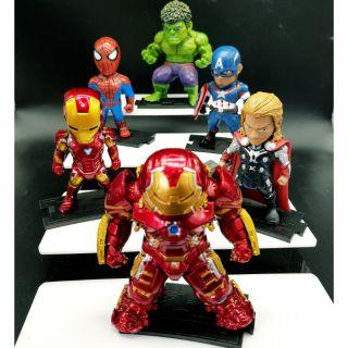 Bộ 6 avengers marvel chibi