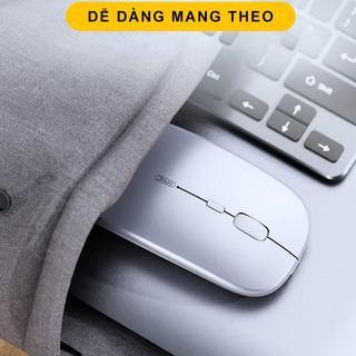 Hình ảnh Chuột không dây Bluetooth tự sạc pin SIDOTECH M1P không tiếng click sạc 1 lần dùng 1 tuần cho Laptop macbook PC Tivi-7