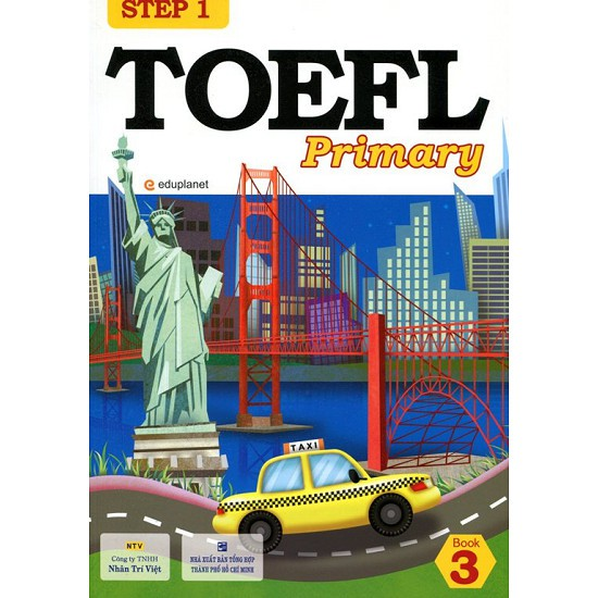 sách- TOEFL Primary Book 3 Step 1 (Kèm CD)