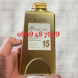 Best Seller Dầu hấp lụa tơ tằm siêu mềm mượt Fakeshu 618ml ( New) thumbnail