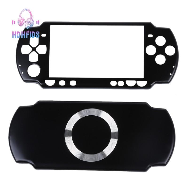 🔧Full Housing Kit Replacement Case for Sony PSP 2000 - black