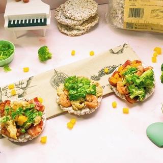 Hình ảnh Bánh gạo lứt ăn kiêng GUfoods (510g = 54 bánh) - Các vị Yến mạch, Huyết rồng, Tím than, Mix 3 vị, Hạt chia và Hạt quinoa-7