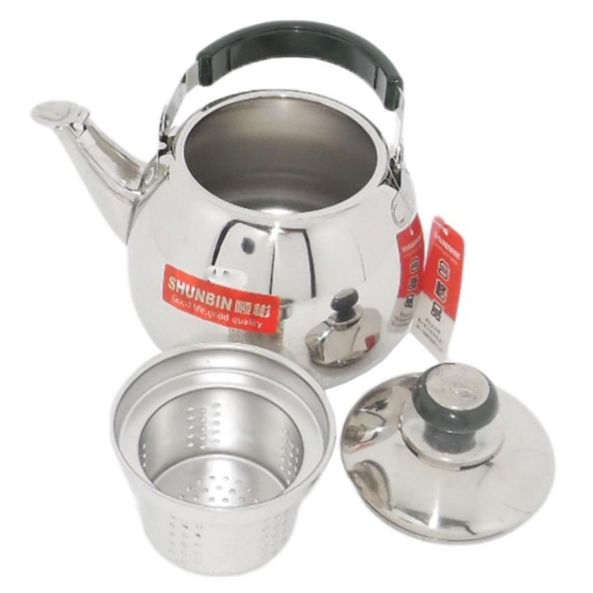 Ấm pha trà inox có lõi lọc trà Shunbin SB-CLB 1.5Lít (inox) - 2885452 , 440833709 , 322_440833709 , 169000 , Am-pha-tra-inox-co-loi-loc-tra-Shunbin-SB-CLB-1.5Lit-inox-322_440833709 , shopee.vn , Ấm pha trà inox có lõi lọc trà Shunbin SB-CLB 1.5Lít (inox)