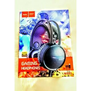 HEADPHONES tai nghe chụp tại GAMING có mic HOCO. W100 cực chất cực siêu cho các game thủ .