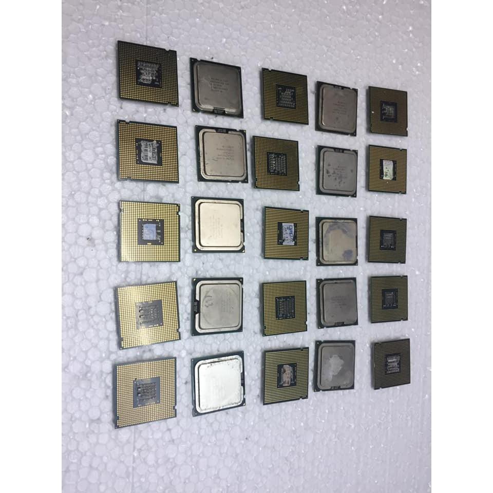Bộ vi xử lý CPU Chip E4400 đến 5700 hỏng