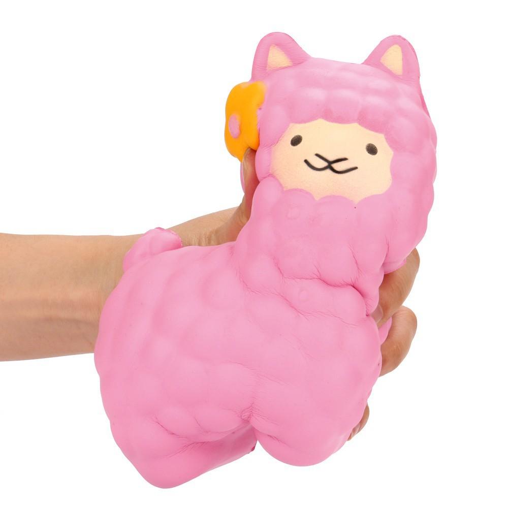 Đồ chơi bóp tay thơm hình cừu dễ thương , có mùi thơm mã sp XW9089