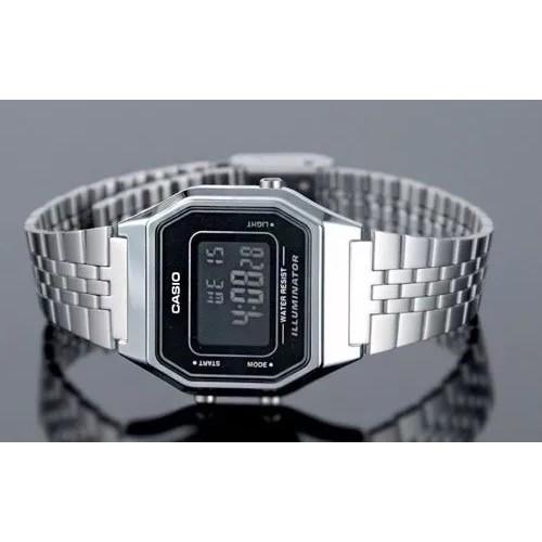 Đồng hồ nữ dây kim loại chính hãng casio LA680WA-1BDF