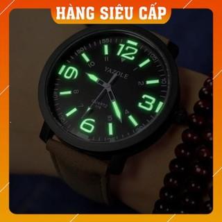 [CAO CẤP] Đồng hồ nam Yazole 319 Dạ quang phong cách nam tính, mạnh mẽ