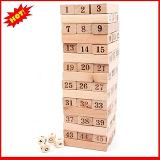 [Giá Rẻ Nhất] Bộ đồ chơi rút gỗ 48 thanh to