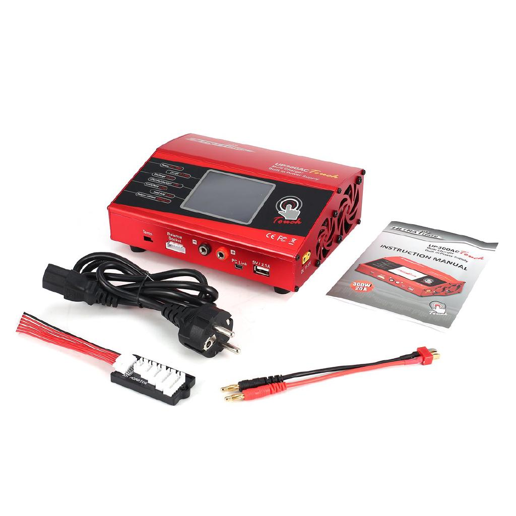 Ultra Power UP300AC High Power Touch 300W 1-6S Battery Balance Charger