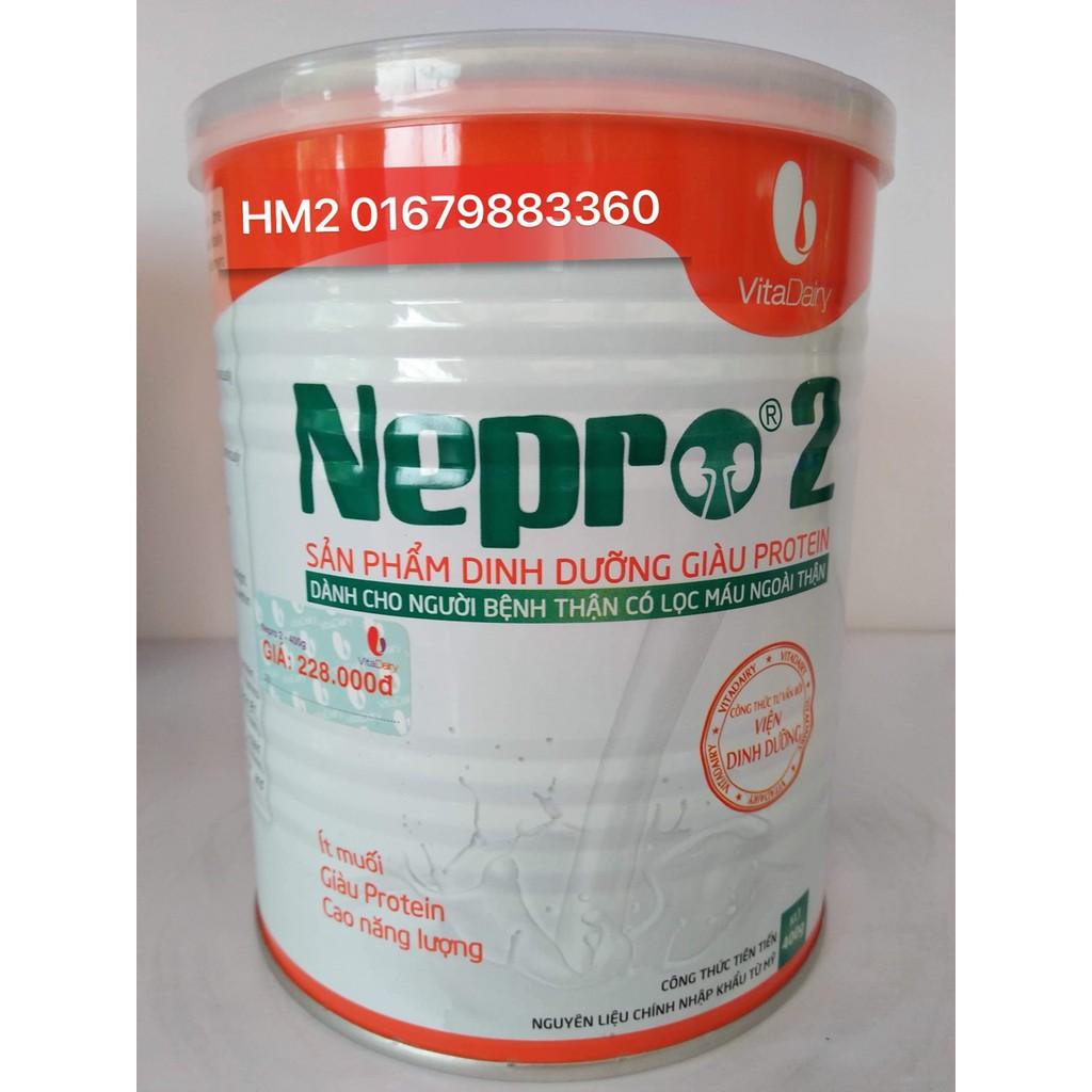 Sữa Nepro 2 400g -Dành Cho Người Bệnh Thận Có Lọc Máu