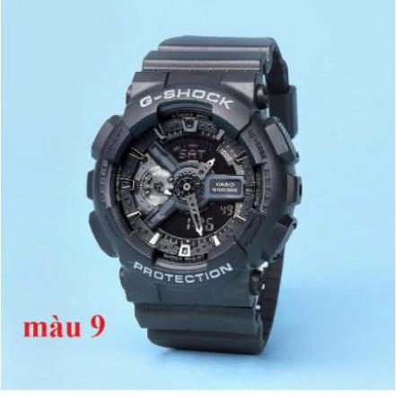 [HOT 2021]Đồng hồ thể thao nam G-Shock - GA110 55mm điện tử chống nước đa năng (Màu đen) - Gsock