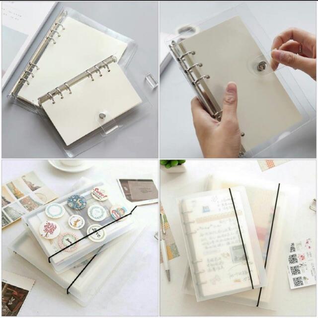 A4 B5 A5 A6 bìa còng sổ còng cứng và bìa dẻo bullet journal planner binder loose leaf