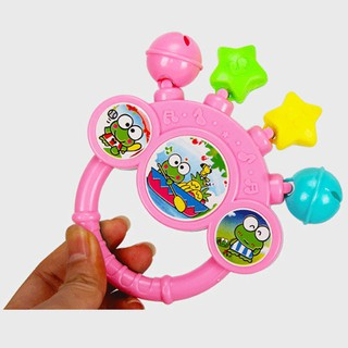 huixin New Bell Baby Toys Cartoon Baby Hand Play Rattle Toys For Newborn Sound Rattles