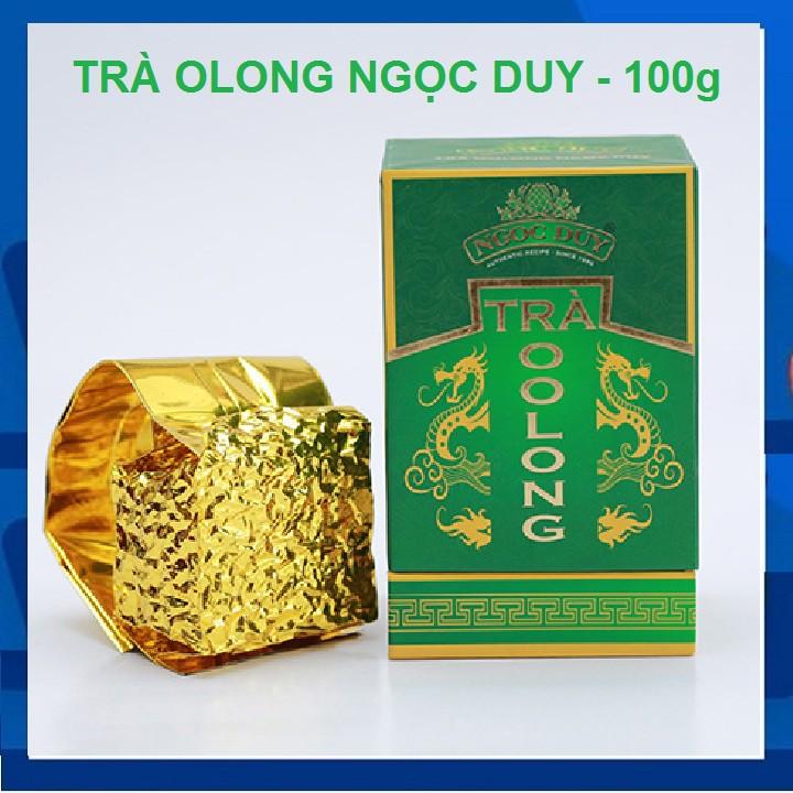 [Đặc sản Đà Lạt] Trà oolong Ngọc Duy cao cấp - Hộp 100g [Đặc sản Đà Lạt] Trà oolong Ngọc Duy cao cấp - Hộp 100g