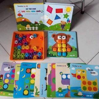 Bộ trò chơi Sắc màu – Hình khối Similac️