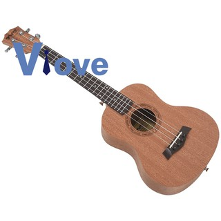 26 Inch Mahogany Wood 18 Fret Tenor Ukelele Hawaii 4 String Guitarra