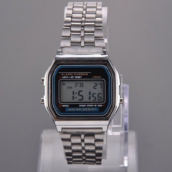 Đồng hồ đeo tay bằng thép không gỉ thời trang