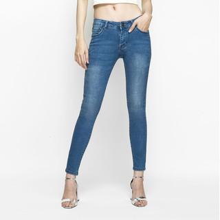[Mã WANANAS giảm 20% tối đa 100k đơn 150k] Quần Jeans Nữ AAA JEANS Skinny Lưng Vừa Nhiều Màu
