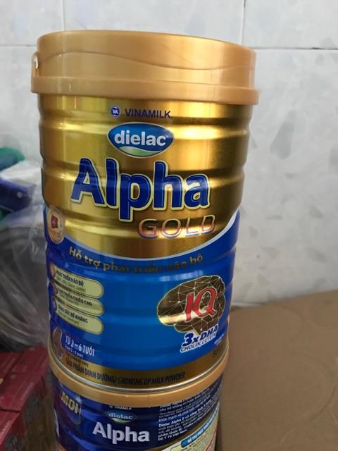 Sữa bột Dielac alpha Gold 4 HT 900g cho trẻ từ (2-6 tuổi)