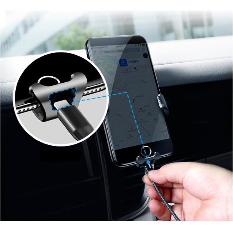 ✔HÀNG CHÍNH HÃNG✔Kẹp điện thoại ô tô-Giá đỡ-Giá kê điện thoại trên cửa gió ô tô-xe hơi-Baseus Gravity Car Mount Bảo hành