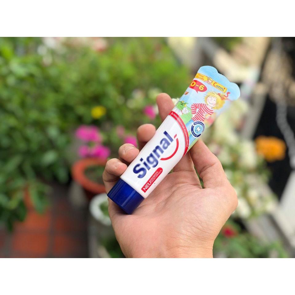 [ HÀNG ĐỨC ] Kem Đánh Răng Signal Cho Bé 1-6 Tuổi, 50 ml