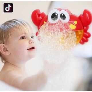 Ếch – cua tạo bọt bong bóng
