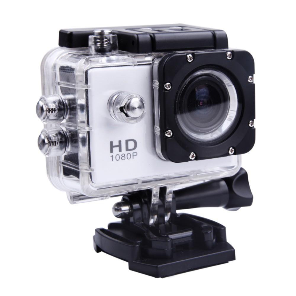 Camera hành động Waterproof Sports Cam Full HD 1080P (Bạc)