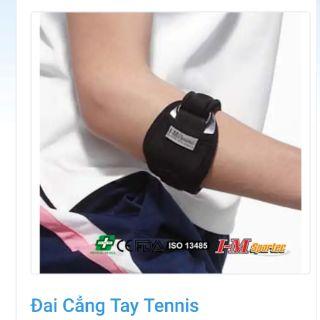 Đai cẳng tay tennis cao cấp thumbnail