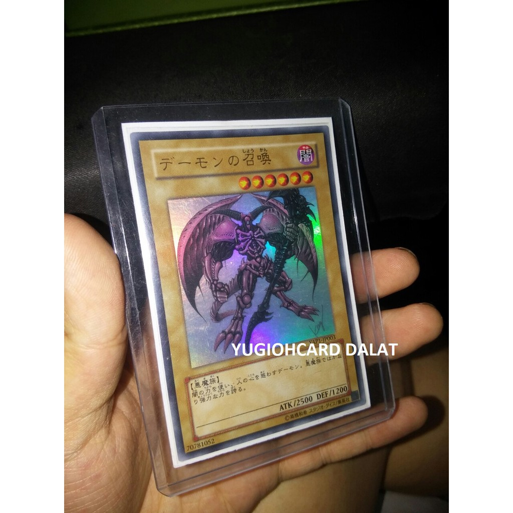 Thẻ bài Yugioh chính hãng YAP1-JP003 Summoned Skull– ULTRA RARE