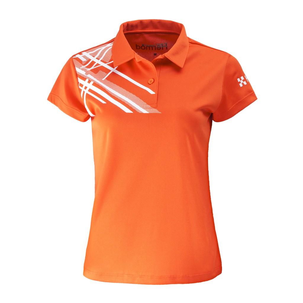 Áo Thể Thao Nữ HERMOD Tennis, Cầu Lông, Bóng Chuyền, Vải Co Dãn, Thoáng Mát, Thấm Hút B01CAM