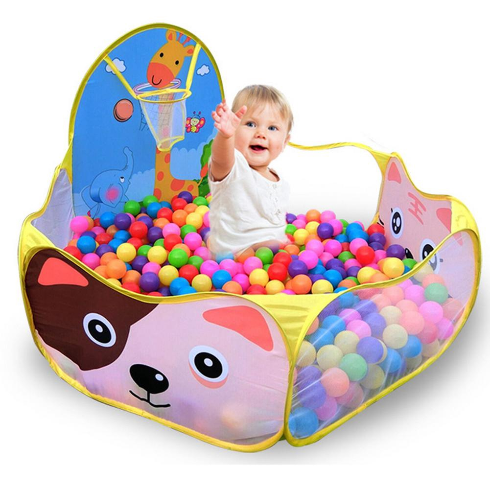 ♪  Indoor Kids Game Play Toy Tent Outdoor Portable Ocean Ball Pit Pool  ♪
